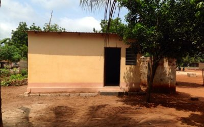 Mission : construction infirmerie scolaire (Sept 2014)