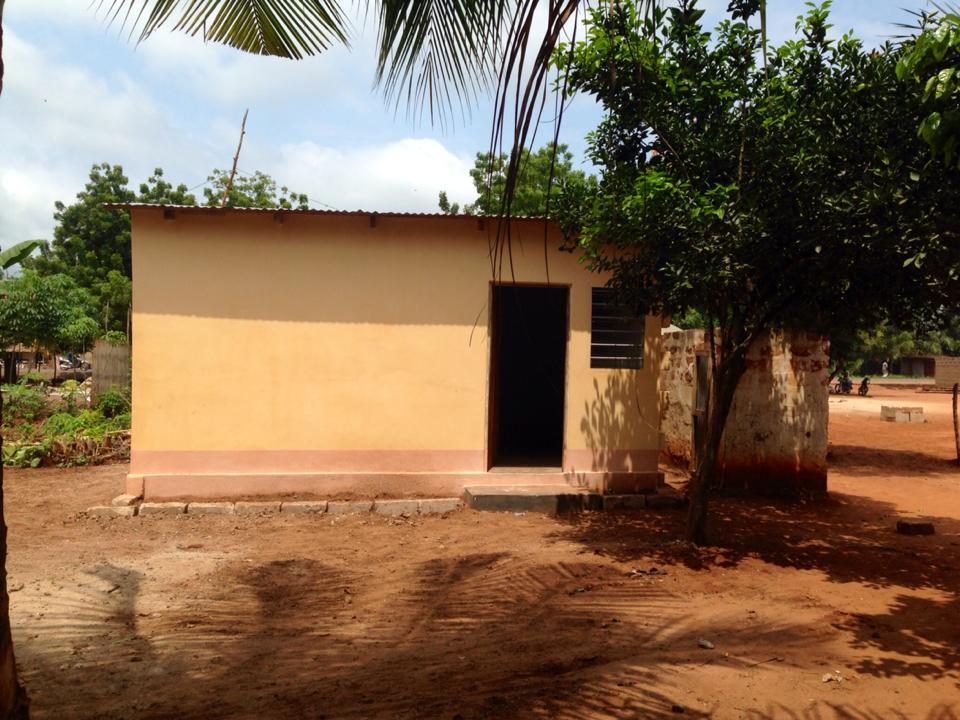 Mission : construction infirmerie scolaire (Sept 2014)