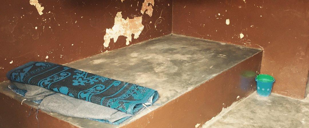 Aménagement de 7 cellules à la brigade pour mineurs de Lomé (prison pour enfants)
