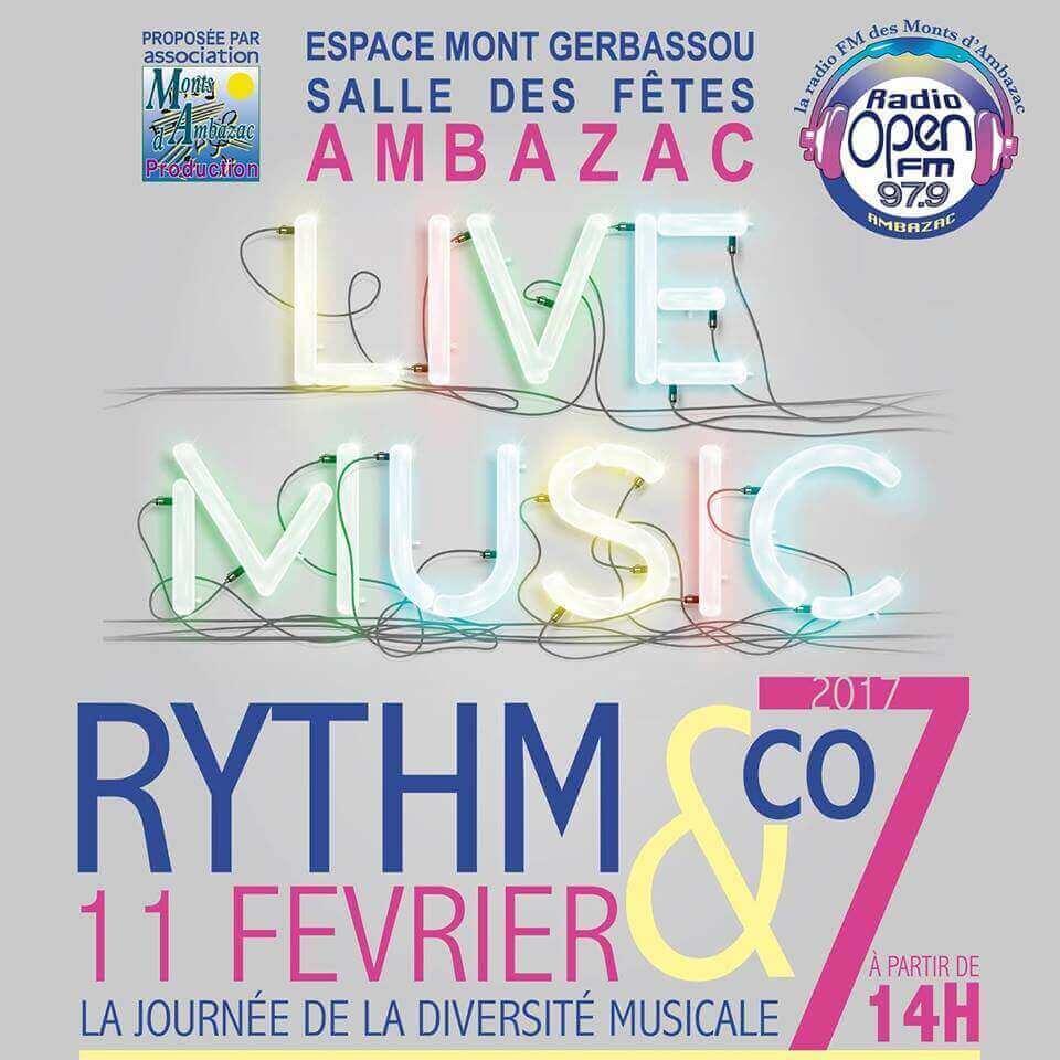 NouKou sera présent au Rythm & Co à Ambazac le 11 février 2017