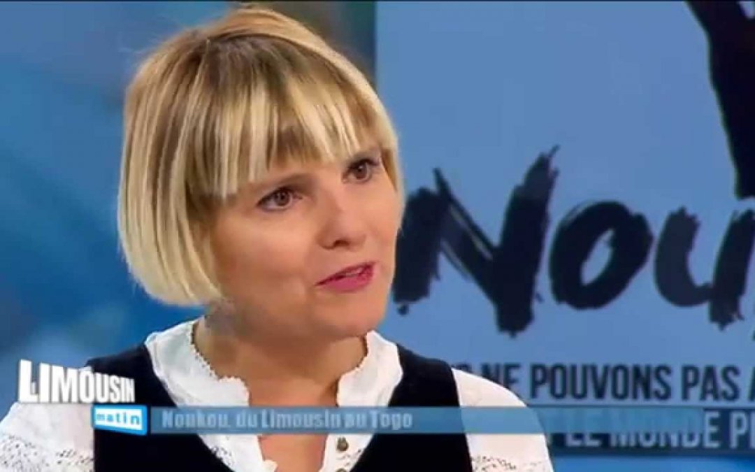 Novembre 2016 – Karine Benoit présidente de NouKou invitée de l'émission Nouvelle Aquitaine matin du 15 novembre