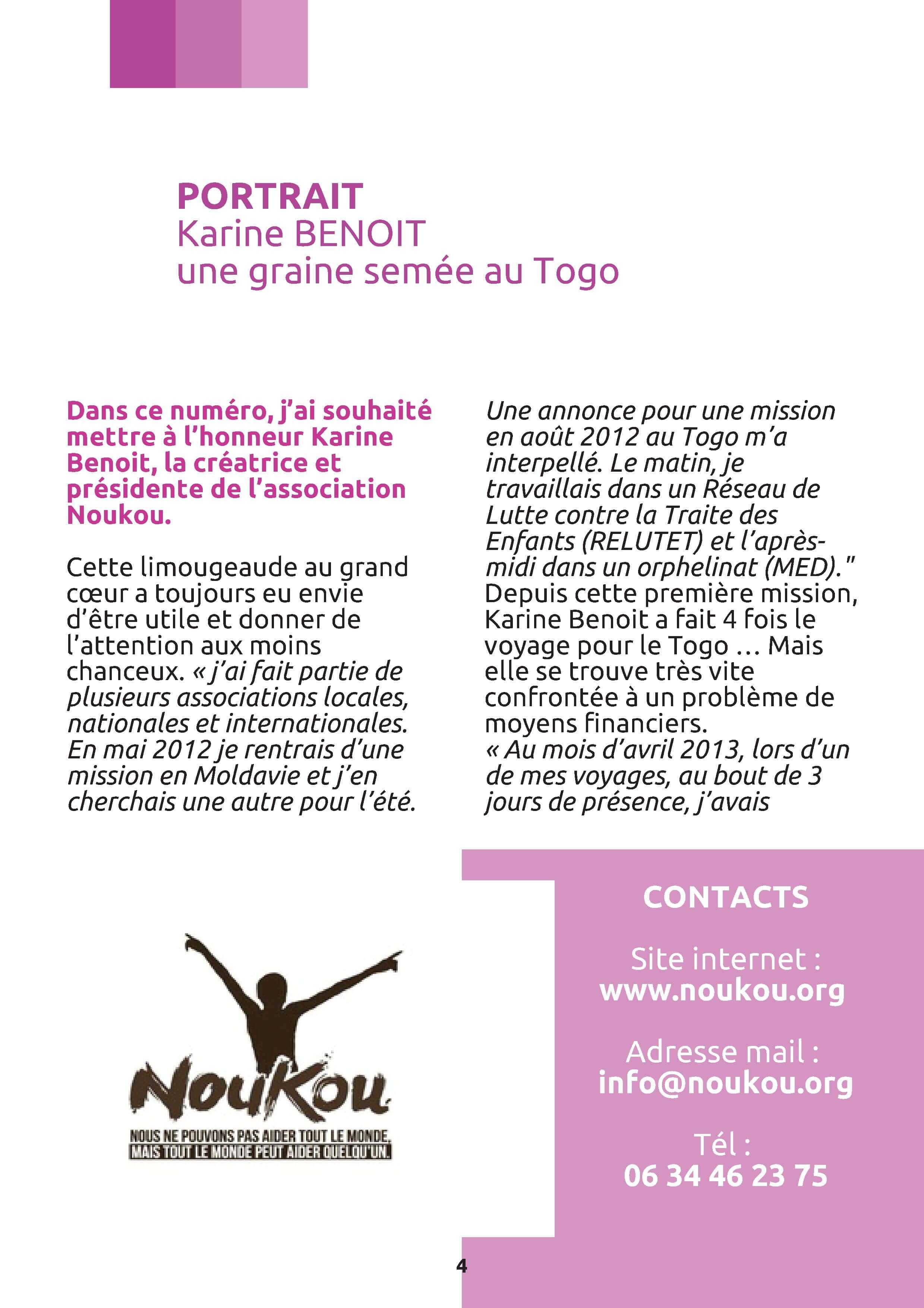 article-karine-benoit-p.1-magsesame-n°-7-Novembre-2013
