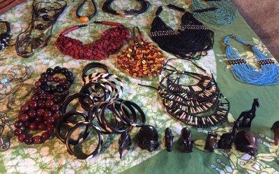 Janvier 2018 : Vente d'artisanat Togolais