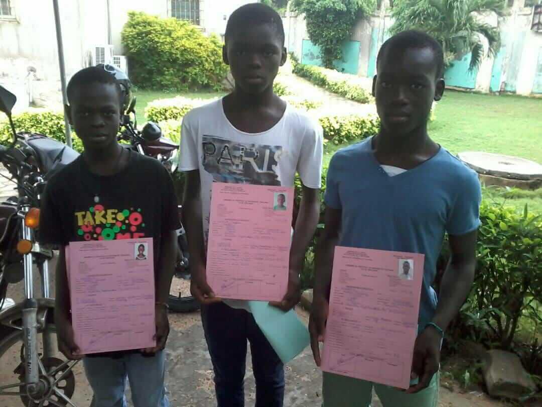Mai 2018 : Une identité pour les enfants d'Amagan