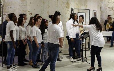 Mai 2017 : Vernissage et concert Gospel en faveur de Noukou