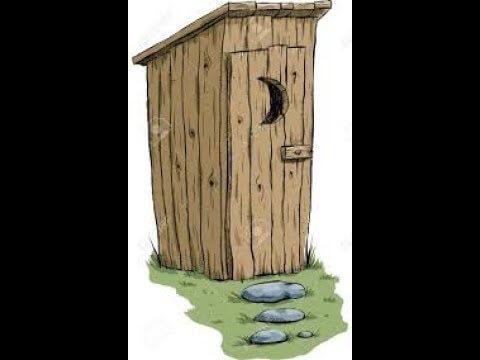 Toilettes au sein de l'école de Kolopé