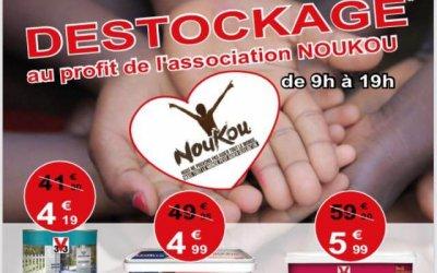 Janvier 2019 – Destockage Noukou à BricoSabourdy : 19 janvier