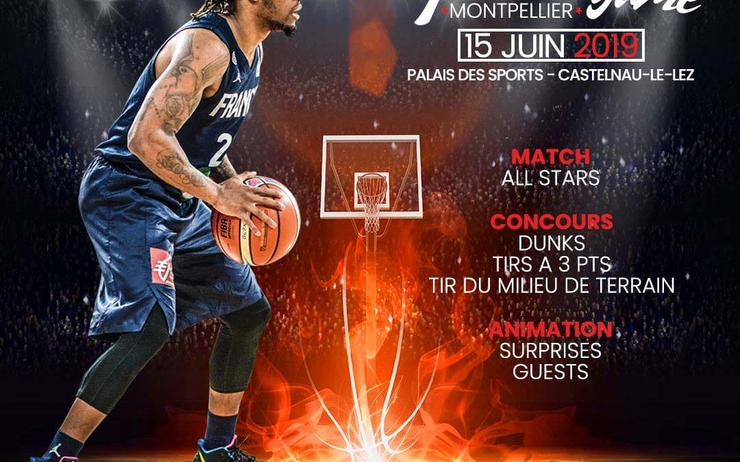 Noukou – Présent au All Star Game à Montpellier le 15 juin