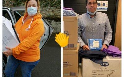 Solidarité Covid-19 avec la société Paredes – Avril 2020